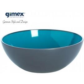 Miska z serii GreyLine turkusowa 1szt - Gimex