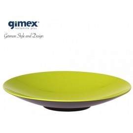 Talerz do pasty GreyLine zielony 1szt - Gimex