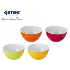 Zestaw misek Rainbow 4szt - Gimex