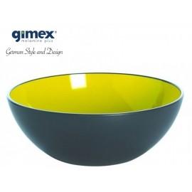 Miska z serii GreyLine zielona 1szt - Gimex melamina