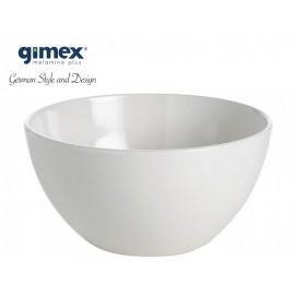 Miska Edelweiss biała 1szt melamina Gimex
