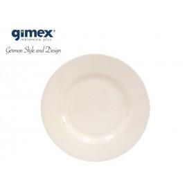 Talerz deserowy Edelweiss 1szt melamina Gimex