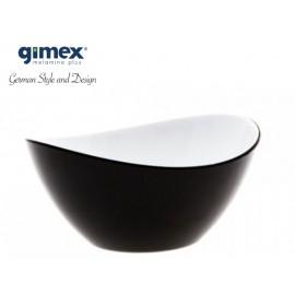 Miska sałatkowa czarna mała - Gimex