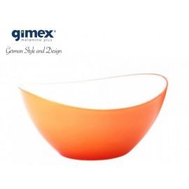 Miska sałatkowa pomarańczowa mała - Gimex