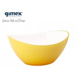 Miska sałatkowa żółta mała - Gimex