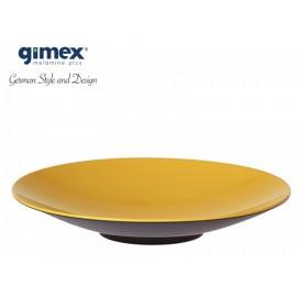 Talerz do pasty GreyLine żółty 1szt - Gimex