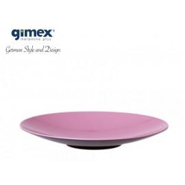 Talerz do pasty GreyLine jasnoróżowy 1szt - Gimex