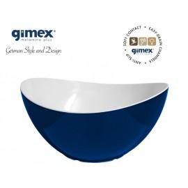 Miska sałatkowa antypoślizgowa średnia granat 1szt melamina Gimex
