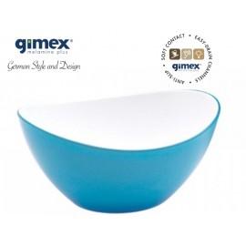 Miska antypoślizgowa mała turkus 1szt melamina Gimex