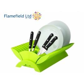 Ociekacz składany zielony - Flamefield