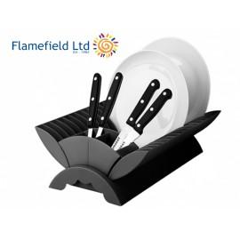 Ociekacz składany czarny - Flamefield