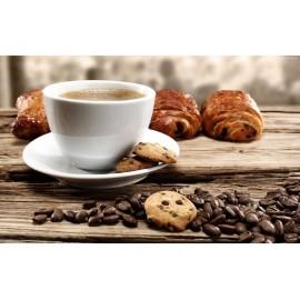 Zestaw filiżanek do espresso białe 2szt - Gimex