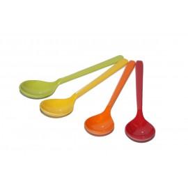Zestaw łyżeczek Rainbow - 4 szt.Gimex melamina