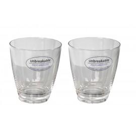 Zestaw szklanek 2szt. z polycarbonu - Flamefield