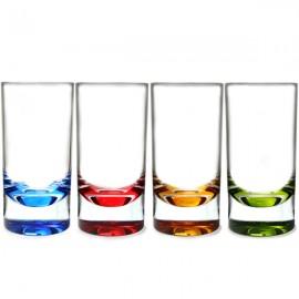 Zestaw szklanek do long drinków 4szt. z polycarbonu Flamefield
