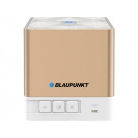 BT02 GOLD - Przenośny głośnik Bluetooth z radiem i odtwarzaczem MP3