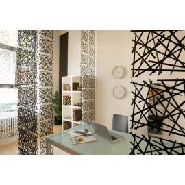Panel dekoracyjny Stixx 4 szt. antracytowy transparentny Koziol