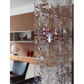 Panel dekoracyjny Romance 4 szt. transparentny Koziol