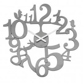 Zegar ścienny Pi:P szary Koziol