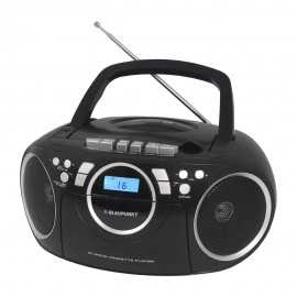 BB16BK - Boombox Blaupunkt CD MP3 USB kasetowy