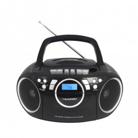 BB16BK - Boombox Blaupunkt CD MP3 USB kasetowy