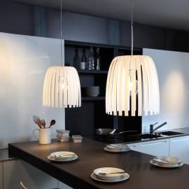 Lampa Josephine biała nieprzezroczysta rozmiar M - Koziol