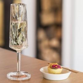 Kieliszek do szampana Club przezroczysty Koziol