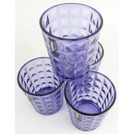 Szklanka do wody lub soku niebieska Gimex melamina