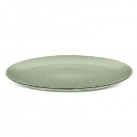 Talerz obiadowy seria Organic zielony 26cm Koziol