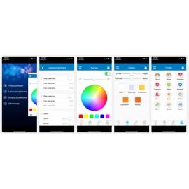 Głośnik Bluetooth z oświetleniem LED i darmową aplikacją na smartfona Blaupunkt
