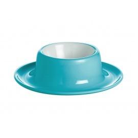 Podstawka biało-niebieska do jajek Gimex