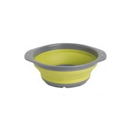 Miska składana M żółto-szara
