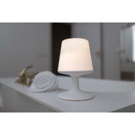 Lampa bezprzewodowa Light To Go Organic szara Koziol