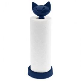 Stojak na papier welwetowy błękit miaou Koziol
