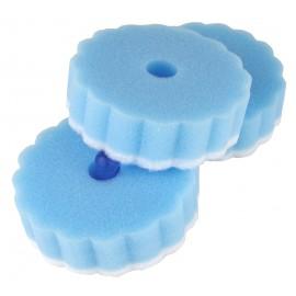 Zestaw 3szt gąbek z przyssawką w kolorze niebieskim Gimex