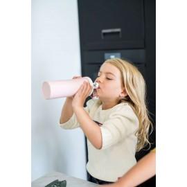 Butelka na wodę Organic Plopp To Go różowa Koziol