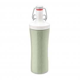 Butelka na wodę Organic Plopp To Go zielona Koziol