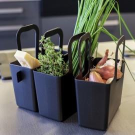 Torba Taschelino Organic zielona Koziol