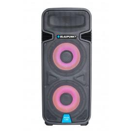 Profesjonalny system audio z Bluetooth, funkcją karaoke i podświetleniem LED Blaupunkt