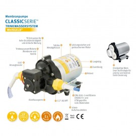 Klasyczna pompa ciśnieniowa LS403 10,6l