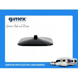 Pokrywka do misy Quadrato Black&White 1szt melamina Gimex